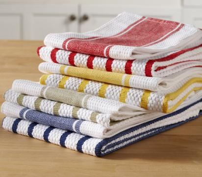 Kitchen/Tea Towels: Excellent Range Of Flat And Terry Cotton Woven Check  And Printed Towels And Towels Sets. Available As Per Buyersu0027 Specifications