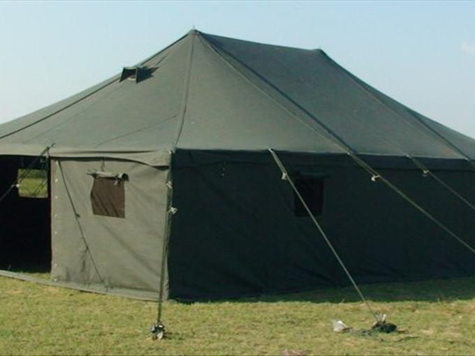 Heavy duty group tent ideal for accomodation/ storage / Hospital or general use. This is an economical version of the Marquee Universal tent in which the ... & Standard Marquee Tents - Sabritextiles